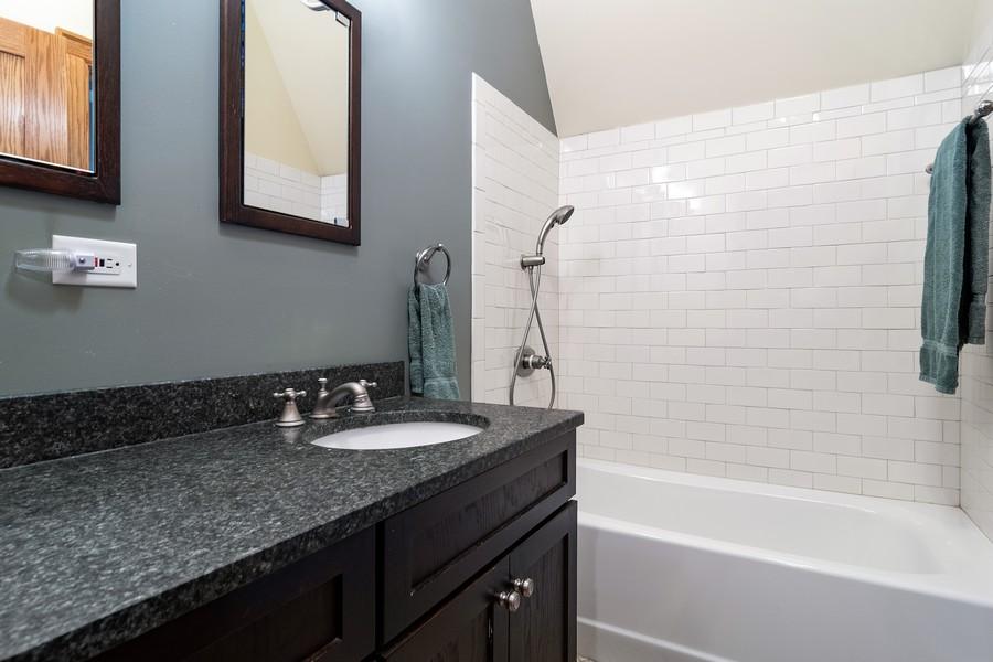 Real Estate Photography - 1023 Wenonah, Oak Park, IL, 60304 - 2nd Floor Bathroom