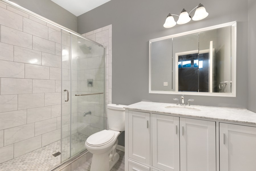 Real Estate Photography - 1920 S. Federal St., Unit C, Chicago, IL, 60616 - Master Bathroom