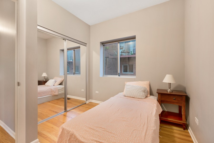 Real Estate Photography - 1920 S. Federal St., Unit C, Chicago, IL, 60616 - 3rd Bedroom