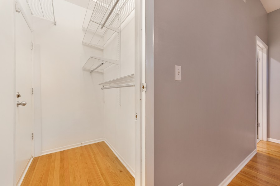 Real Estate Photography - 1920 S. Federal St., Unit C, Chicago, IL, 60616 - Master Bedroom Closet