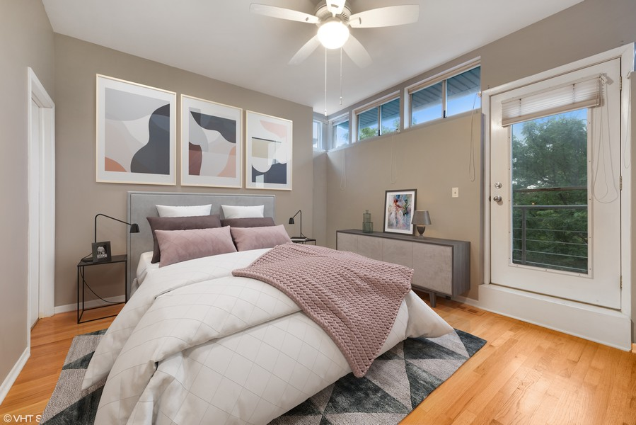 Real Estate Photography - 1920 S. Federal St., Unit C, Chicago, IL, 60616 - Master Bedroom