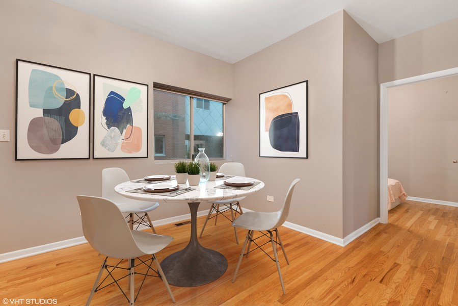 Real Estate Photography - 1920 S. Federal St., Unit C, Chicago, IL, 60616 - Breakfast Area