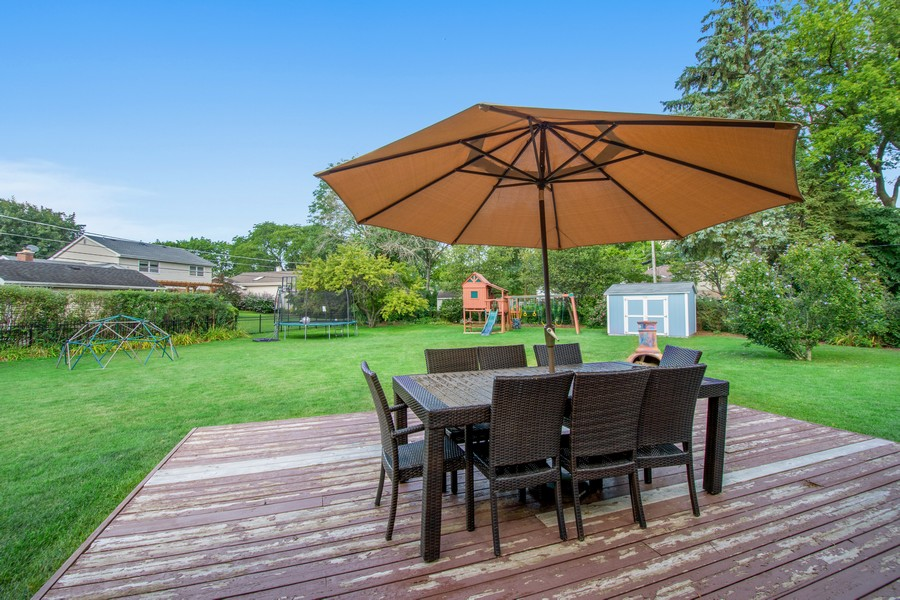 Real Estate Photography - 1315 W Leona Ter, Arlington Heights, IL, 60005 - Back Yard