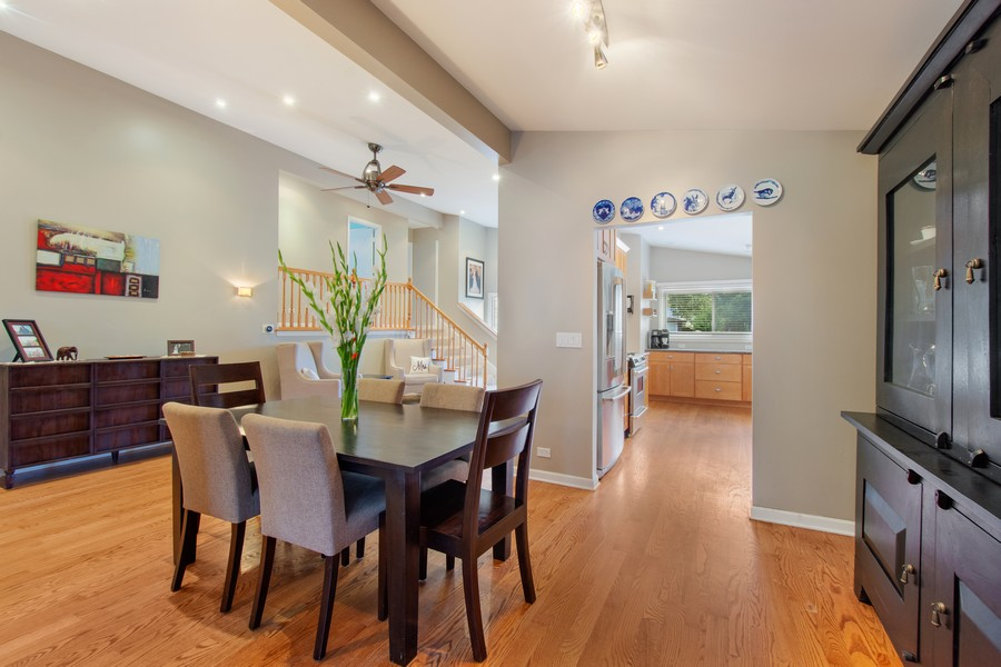 Real Estate Photography - 1315 W Leona Ter, Arlington Heights, IL, 60005 - Dining Area 2