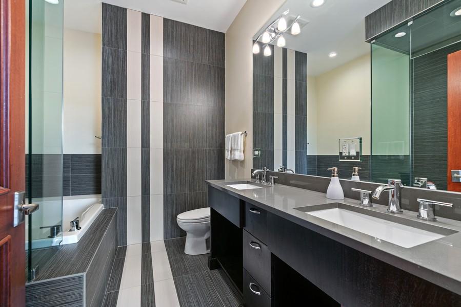 Real Estate Photography - 3536 North Ashland, Unit 4N, Chicago, IL, 60657 - Master Bathroom
