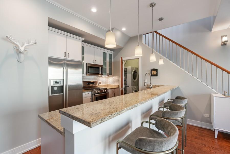 Real Estate Photography - 3536 North Ashland, Unit 4N, Chicago, IL, 60657 - Kitchen