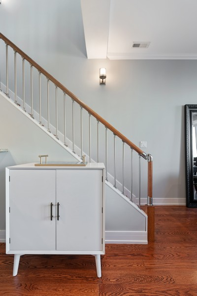 Real Estate Photography - 3536 North Ashland, Unit 4N, Chicago, IL, 60657 - Staircase