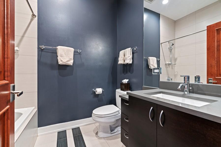 Real Estate Photography - 3536 North Ashland, Unit 4N, Chicago, IL, 60657 - Bathroom