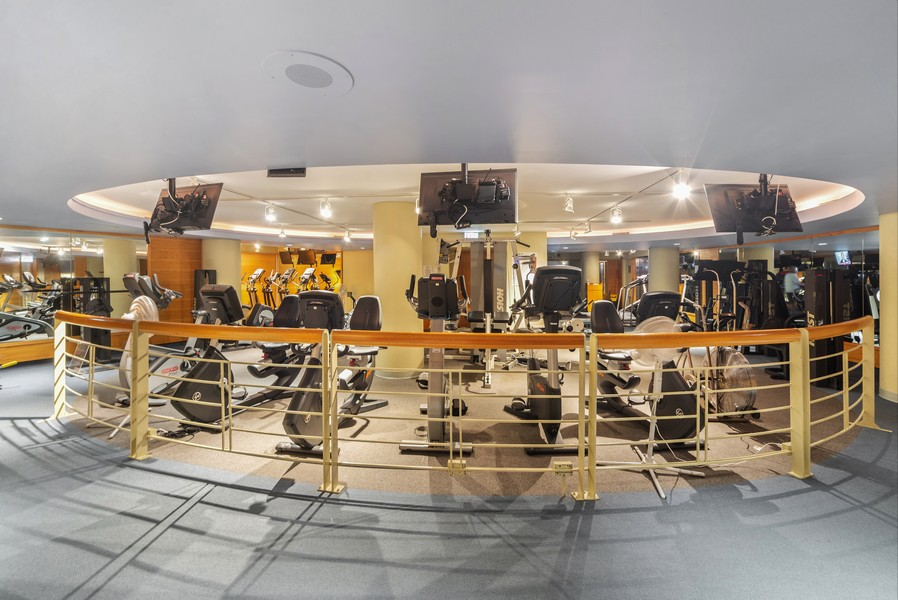 Real Estate Photography - 155 N. Harbor Dr. Unit 2010, Chicago, IL, 60601 - Exercise Room