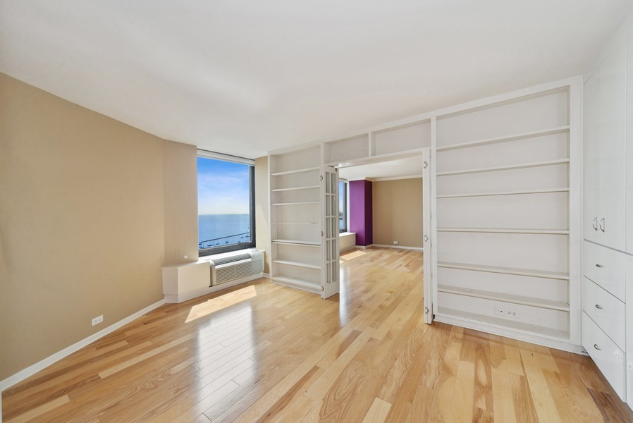 Real Estate Photography - 155 N. Harbor Dr. Unit 2010, Chicago, IL, 60601 - 2nd Bedroom
