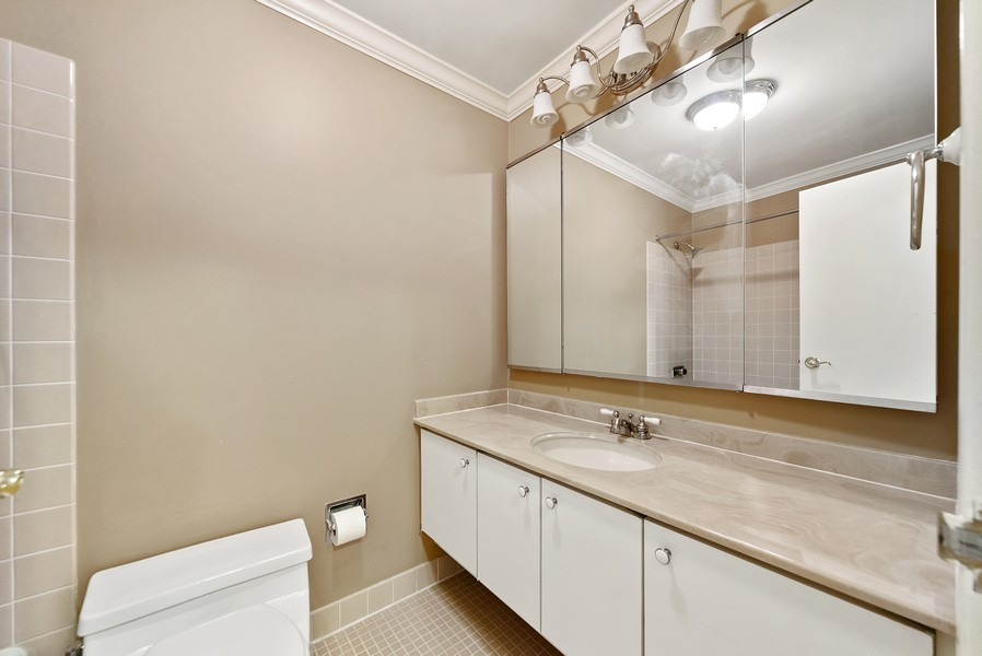 Real Estate Photography - 155 N. Harbor Dr. Unit 2010, Chicago, IL, 60601 - Bathroom