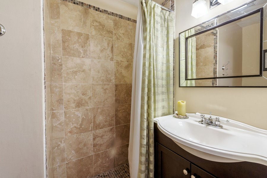 Real Estate Photography - 314 Behm Dr, Grayslake, IL, 60030 - 2nd Bathroom