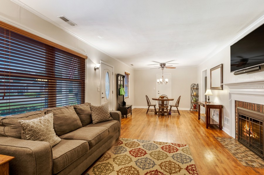 Real Estate Photography - 314 Behm Dr, Grayslake, IL, 60030 - Living Room / Dining Room