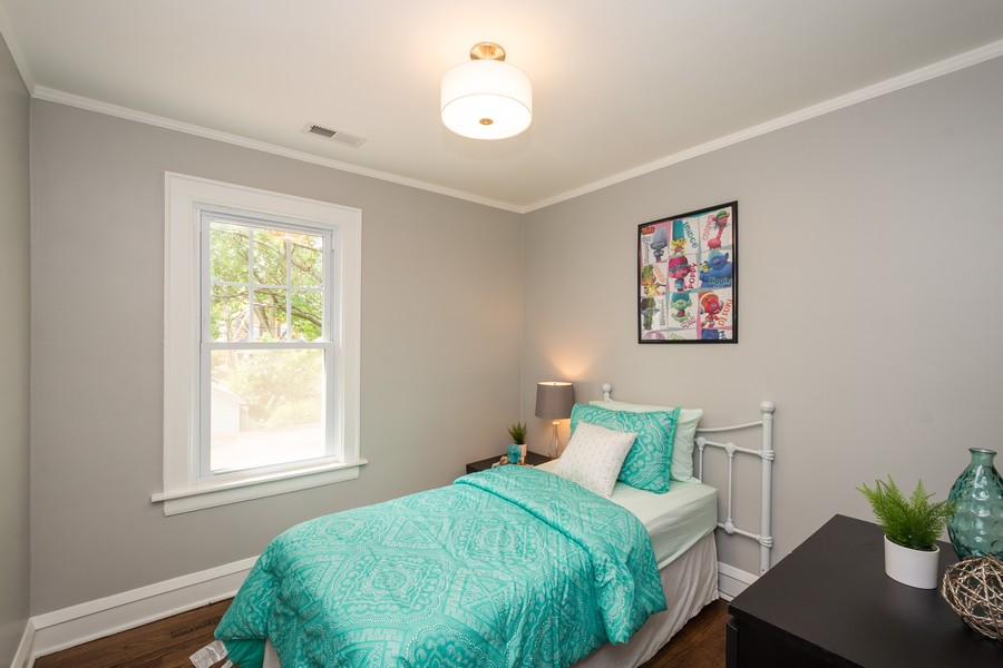 Real Estate Photography - 2230 Forest View Rd, Evanston, IL, 60201 - 2nd Bedroom