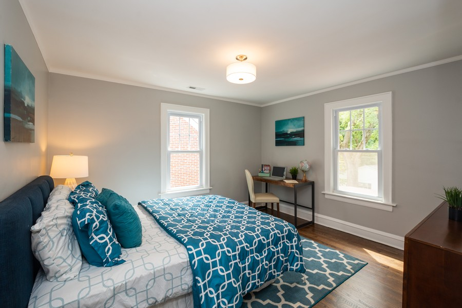 Real Estate Photography - 2230 Forest View Rd, Evanston, IL, 60201 - 3rd Bedroom
