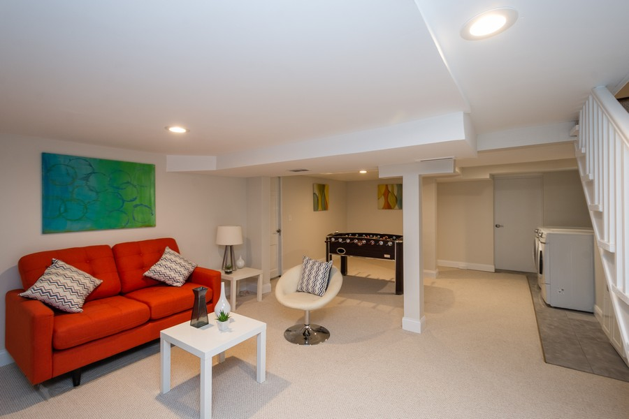 Real Estate Photography - 2230 Forest View Rd, Evanston, IL, 60201 - Lower Level