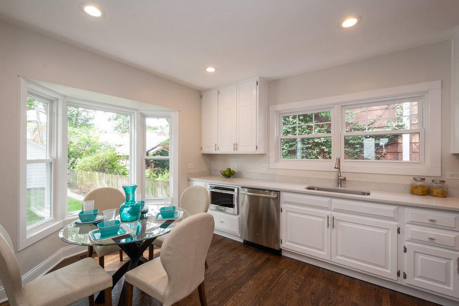 Real Estate Photography - 2230 Forest View Rd, Evanston, IL, 60201 - Kitchen
