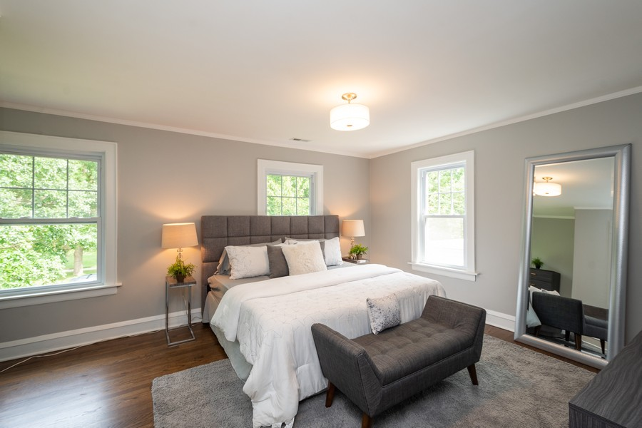 Real Estate Photography - 2230 Forest View Rd, Evanston, IL, 60201 - Bedroom