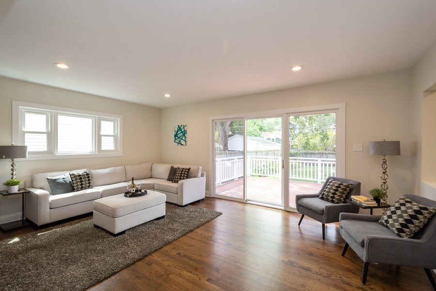 Real Estate Photography - 2230 Forest View Rd, Evanston, IL, 60201 - Family Room