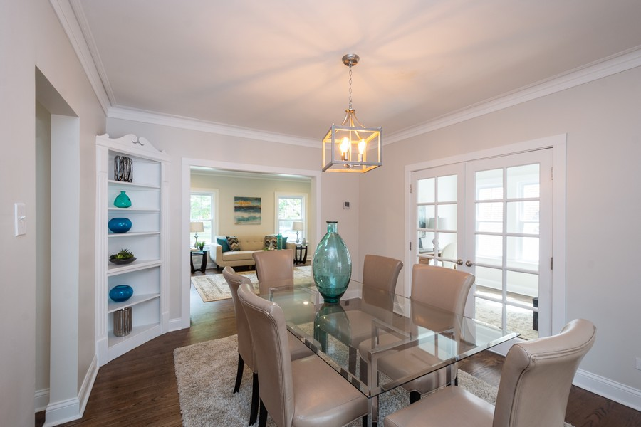 Real Estate Photography - 2230 Forest View Rd, Evanston, IL, 60201 - Dining Area