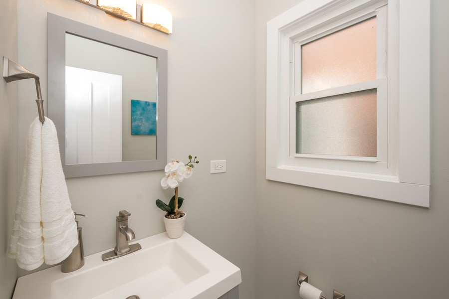 Real Estate Photography - 2230 Forest View Rd, Evanston, IL, 60201 - Half Bath
