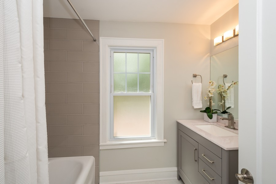 Real Estate Photography - 2230 Forest View Rd, Evanston, IL, 60201 - Bathroom