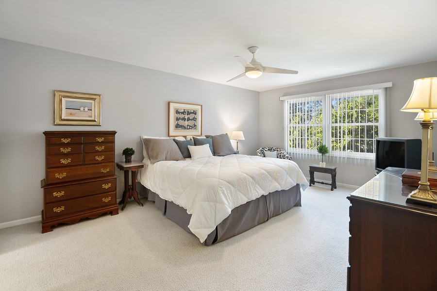 Real Estate Photography - 2042 Trent Ct, Glenview, IL, 60026 - Master Bedroom