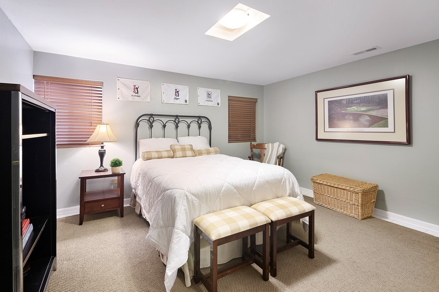 Real Estate Photography - 2042 Trent Ct, Glenview, IL, 60026 - Guest Bedroom or Office