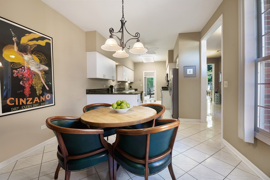 Real Estate Photography - 2042 Trent Ct, Glenview, IL, 60026 - Breakfast Room