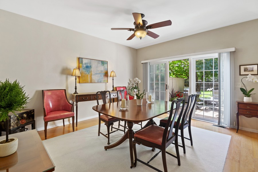 Real Estate Photography - 2042 Trent Ct, Glenview, IL, 60026 - Dining Room