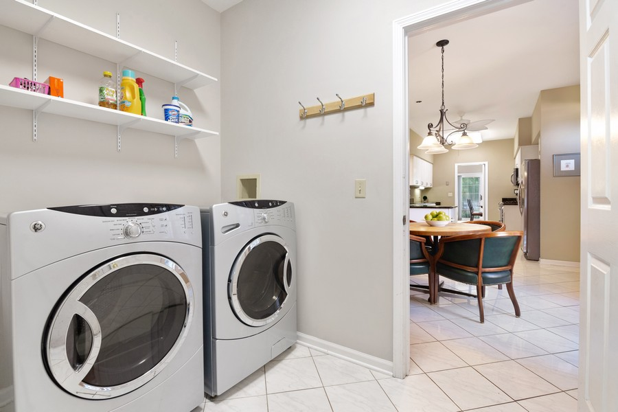 Real Estate Photography - 2042 Trent Ct, Glenview, IL, 60026 - 1st Floor Laundry Room