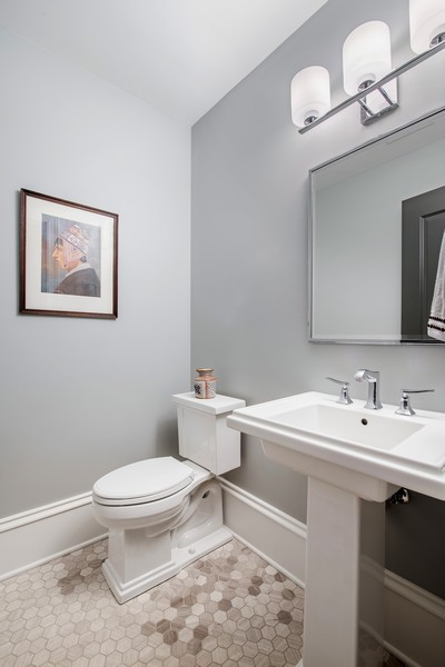 Real Estate Photography - 2019 W School St, Chicago, IL, 60618 - 3rd Bathroom