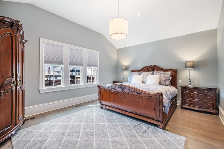 Real Estate Photography - 2019 W School St, Chicago, IL, 60618 - Master Bedroom