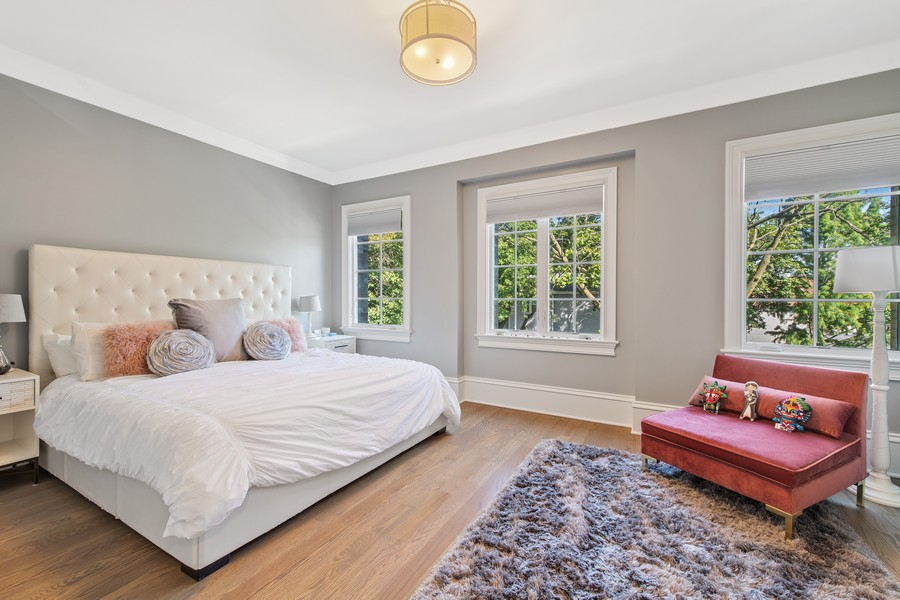 Real Estate Photography - 2019 W School St, Chicago, IL, 60618 - 3rd Bedroom