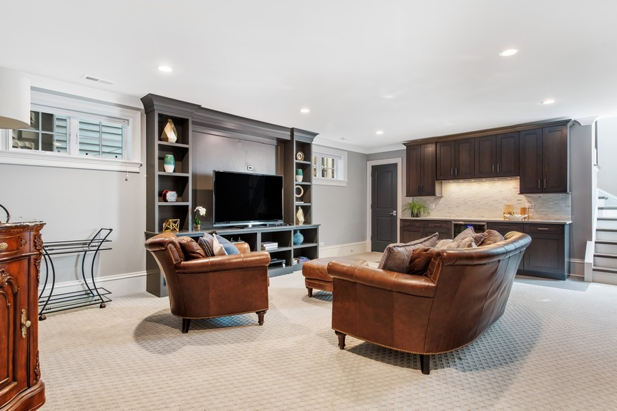 Real Estate Photography - 2019 W School St, Chicago, IL, 60618 - Recreational Room