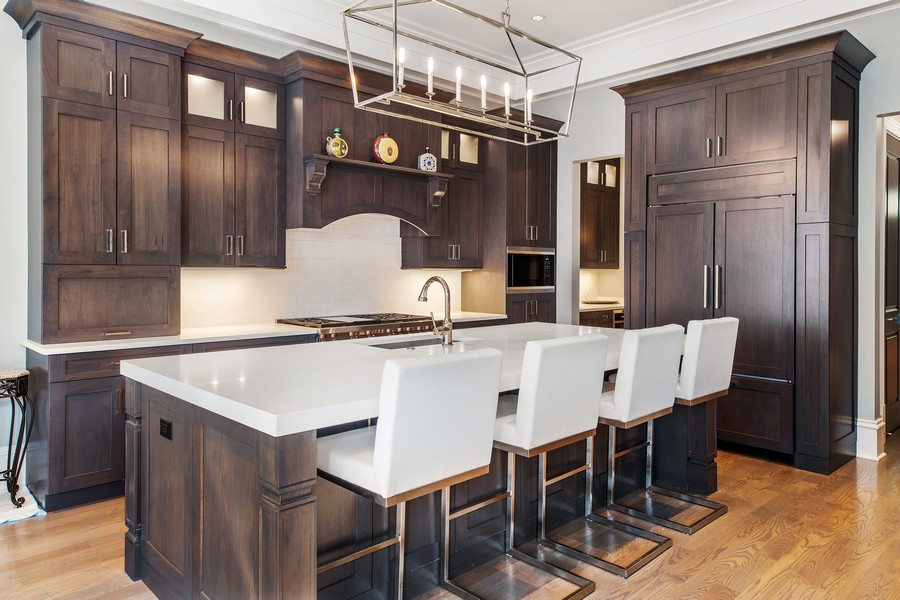 Real Estate Photography - 2019 W School St, Chicago, IL, 60618 - Kitchen