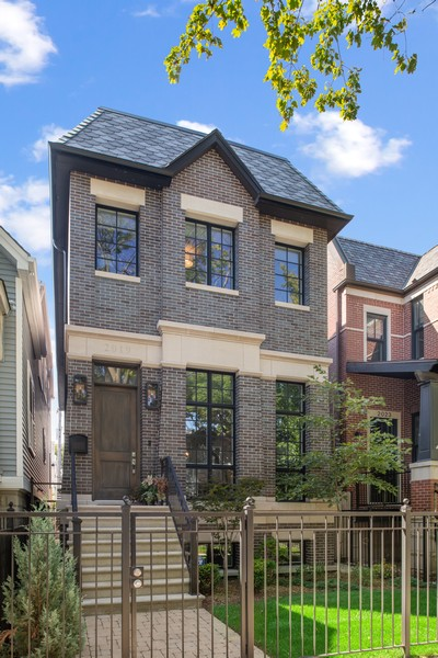 Real Estate Photography - 2019 W School St, Chicago, IL, 60618 - Front View