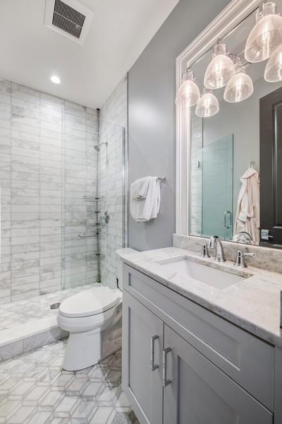 Real Estate Photography - 2019 W School St, Chicago, IL, 60618 - Bathroom