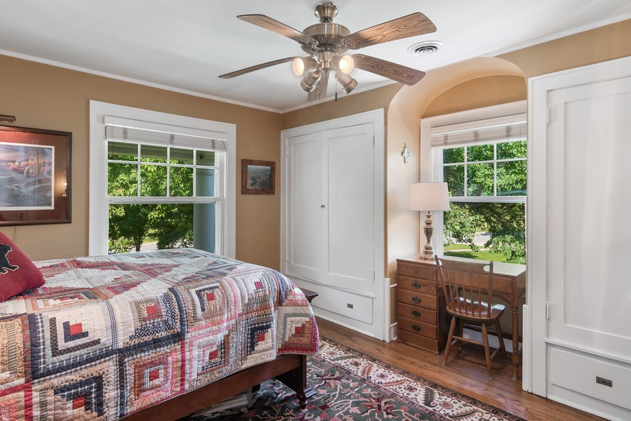 Real Estate Photography - 299 Longcommon Rd, Riverside, IL, 60546 - 2nd Bedroom