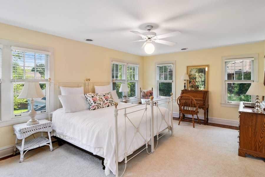Real Estate Photography - 299 Longcommon Rd, Riverside, IL, 60546 - 4th Bedroom