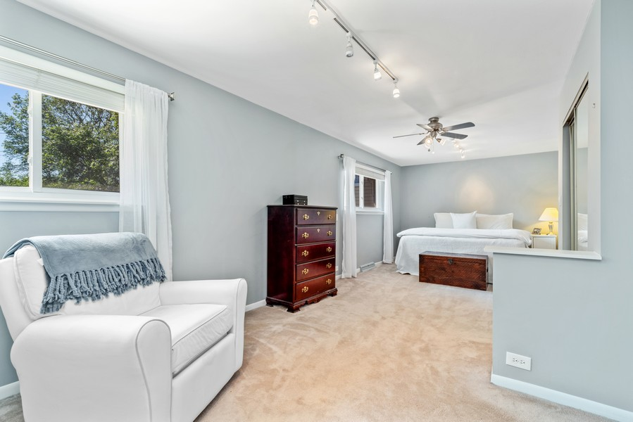 Real Estate Photography - 205 Greenfield, Glenview, IL, 60025 - Master Bedroom
