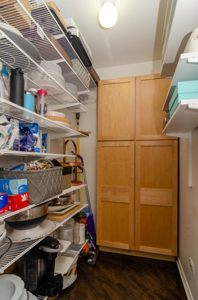 Real Estate Photography - 1767 N Hoyne, L, Chicago, IL, 60647 - Pantry