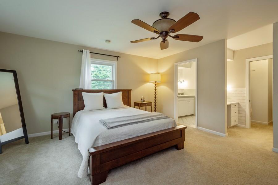 Real Estate Photography - 668 Old Barrington Rd, Barrington, IL, 60010 - Master Bedroom