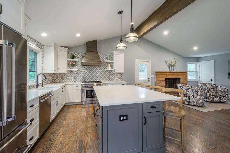 Real Estate Photography - 668 Old Barrington Rd, Barrington, IL, 60010 - Kitchen