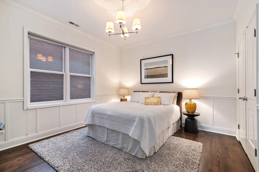 Real Estate Photography - 3717 N Wilton Ave, 4, Chicago, IL, 60613 - 2nd Bedroom