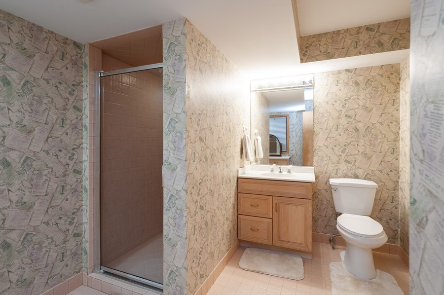Real Estate Photography - 4658 Red Wing Lane, Long Grove, IL, 60047 - 3rd Bathroom