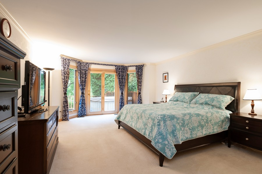 Real Estate Photography - 4658 Red Wing Lane, Long Grove, IL, 60047 - Master Bedroom