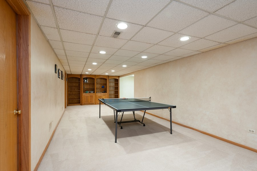 Real Estate Photography - 4658 Red Wing Lane, Long Grove, IL, 60047 - Recreational Room