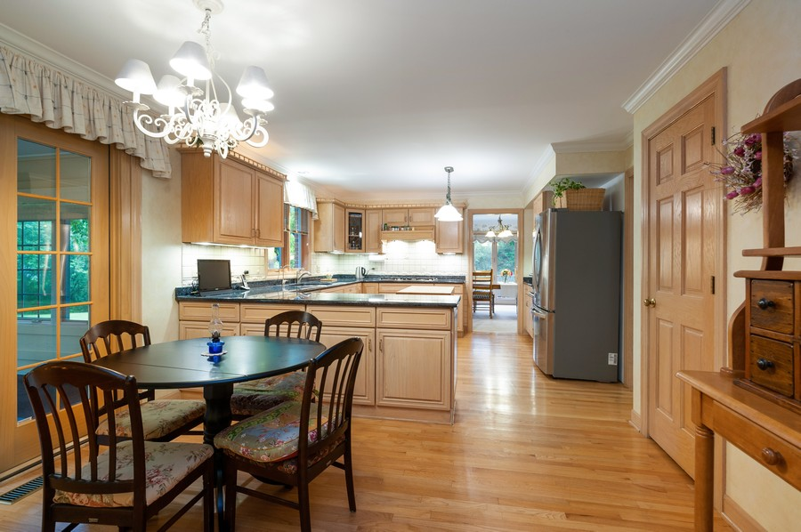 Real Estate Photography - 4658 Red Wing Lane, Long Grove, IL, 60047 - Kitchen / Breakfast Room
