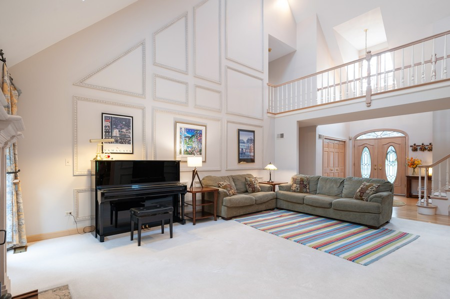 Real Estate Photography - 4658 Red Wing Lane, Long Grove, IL, 60047 - Family Room